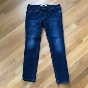 🍁2 for $30🍁EUC dark wash short superskinny jeans